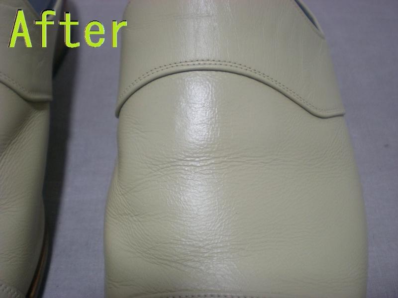 Part88-5 紳士靴染め直し画像 革研究所豊橋店