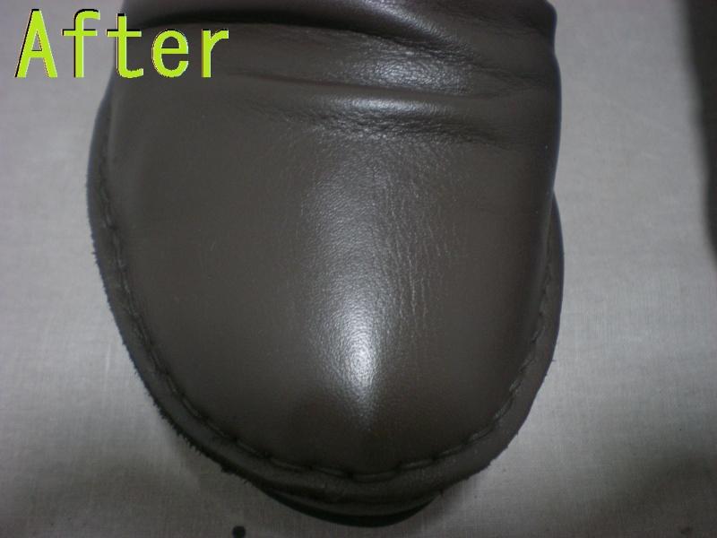 Part78-8 靴色はげ染め直し画像 革研究所豊橋店